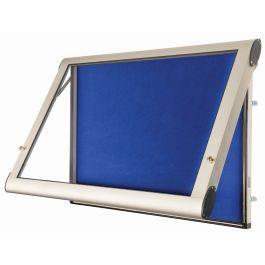 WeatherShield Outdoor Lockable Showcase Noticeboard