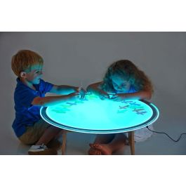 Round Colour Changing Light Panel