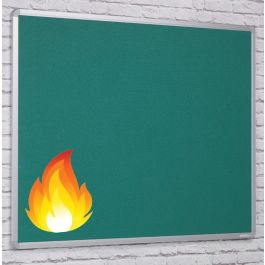 ColourTex FlameSheild Aluminium Framed Noticeboards