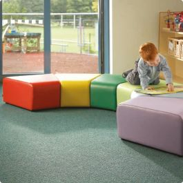 Bob and Weave Vinyl Childrens Soft Seating