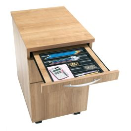 E Space 2 Drawer Mobile Office Pedestal