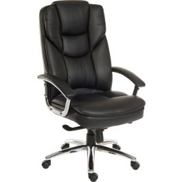 Skyline Luxury Italian Leather Faced Executive Chair