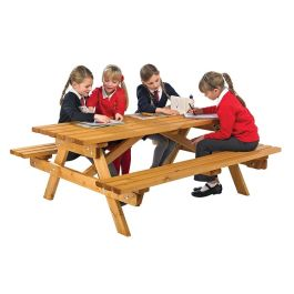 Cotswold Junior Wooden Picnic Bench