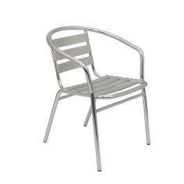 Plaza Aluminium Stacking Bistro Armchair