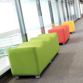 Scoop Low Level Breakout Fabric Seating