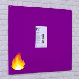 Accents FlameShield Unframed Noticeboards
