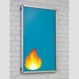 Accents FlameShield Tamperproof Noticeboards