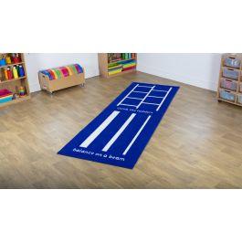 Activity Carpet 1 - Balance Beam and Ladders