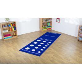 Activity Carpet 4 - Hurdles and Hop Shapes
