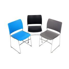 Dusk High Density Stacking Chair