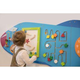 Aeroplane Activity Wall Play Panels
