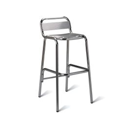Aluminium Bistro High Stool