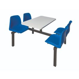 Canteen Furniture 4 Seater