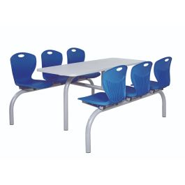 Premium Canteen Furniture - 6 Seater