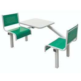 Spectrum Canteen Furniture - 2 Seater Single Entry