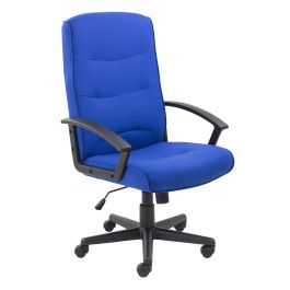 Canasta II Fabric High Back Managers Chair