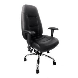 Babylon 24 Hour Leather Operator Chair