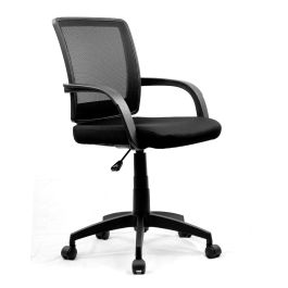 Beta Office Medium Back Mesh Chair With Contoured Back