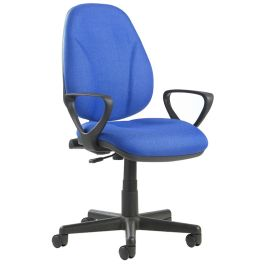 Bilbao Fabric Operators Chair With Lumbar Support and Arms