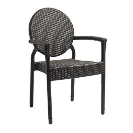 Blake Weave Stacking Armchair