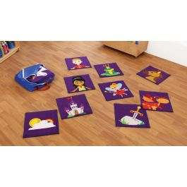 Interactive Story Time Carpet Tiles with FREE Holdall