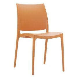 Boston Polypropylene Cafe Bistro Side Chair