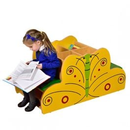 Children's Novelty Butterfly Book Kinderbox with Seat