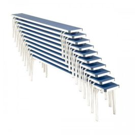 Gopak Contour Lightweight Aluminium Stacking Bench