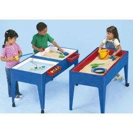 Single Sand & Water Table with Lid