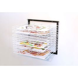 15 Shelf Wall Mounted Art Drying Rack