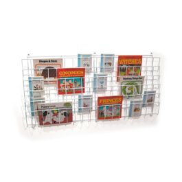 Horizontal Wall Book Rack (6 Shelves)