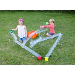 Children's Water Play Channel System