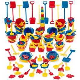 100 Piece Sand and Water Play Set