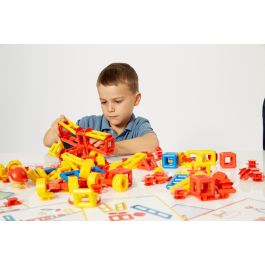 Mobilo Construction Set - 424 Pieces Plus Gratnells Tray and Lid