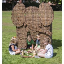 Early Years Elephant Wicker Play Den