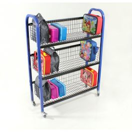 Single Sided Lunch Box Trolley