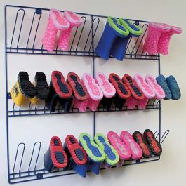 Wall Mounted Wellie Rack