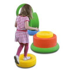 Children's Outdoor Play Tyres Set of 3