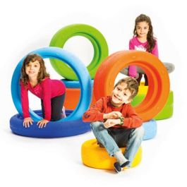 Children's Play Tyres - 10 Assorted Wheels
