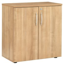 E Space Low Double Door Cabinet Wood