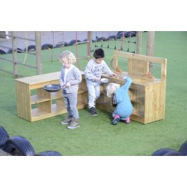 Outdoor Role Play Kitchen Set