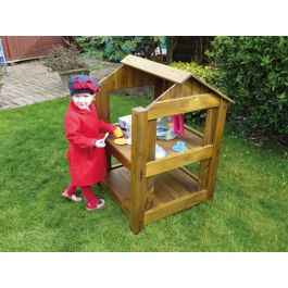 Wooden Outdoor Play Cabin
