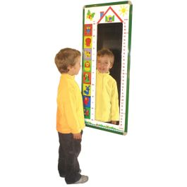 Children's Mirror Height Chart