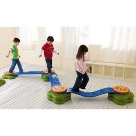 Children's Indoor/Outdoor Balance Beam Water Lily Set of 12