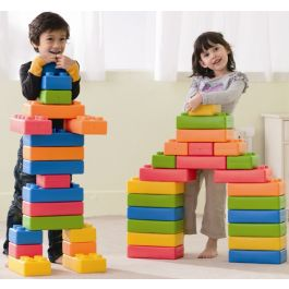 Brick Me Building Blocks Set of 45