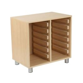 Victoria Tray Storage Unit Without Trays
