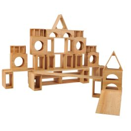 Giant Wooden Hollow Building Block Sets
