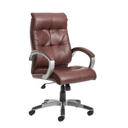 Catania High Back Leather Managers Chair