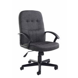 Cavalier Fabric High Back Managers Chair
