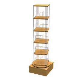 Library Book Spinner